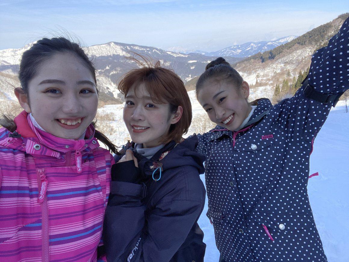 氷ノ山国際スキー場で今年も初スキー